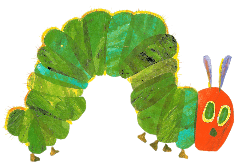 The Very Hungry Caterpillar Clip art.