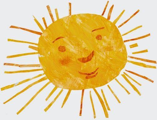 summer sun : eric carle.