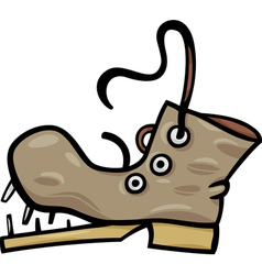 Very old shoes clipart.