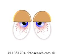 Tired eyes Clipart and Stock Illustrations. 213 tired eyes vector.