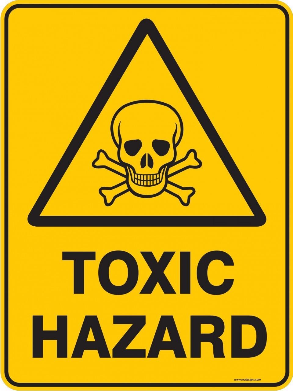 Pics For > Very Toxic Hazard Symbol.