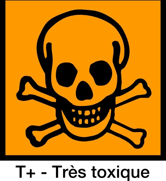 Very Toxic Sign Symbol clip art Free vector in Open office drawing.
