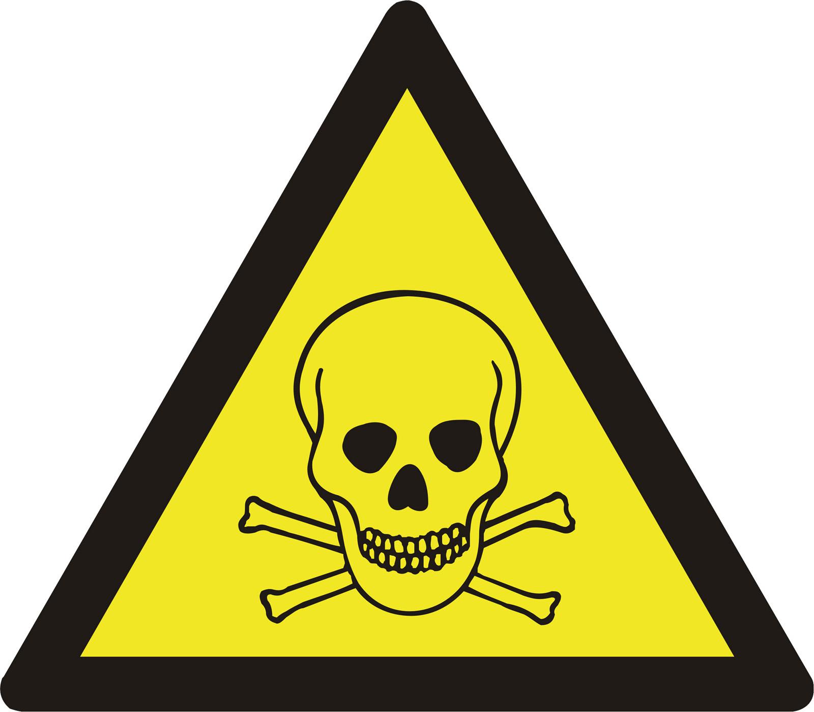 Very Toxic Warning Sign.