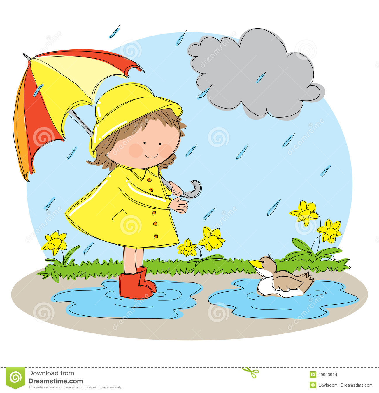 Rainy weather clipart 2 » Clipart Station.