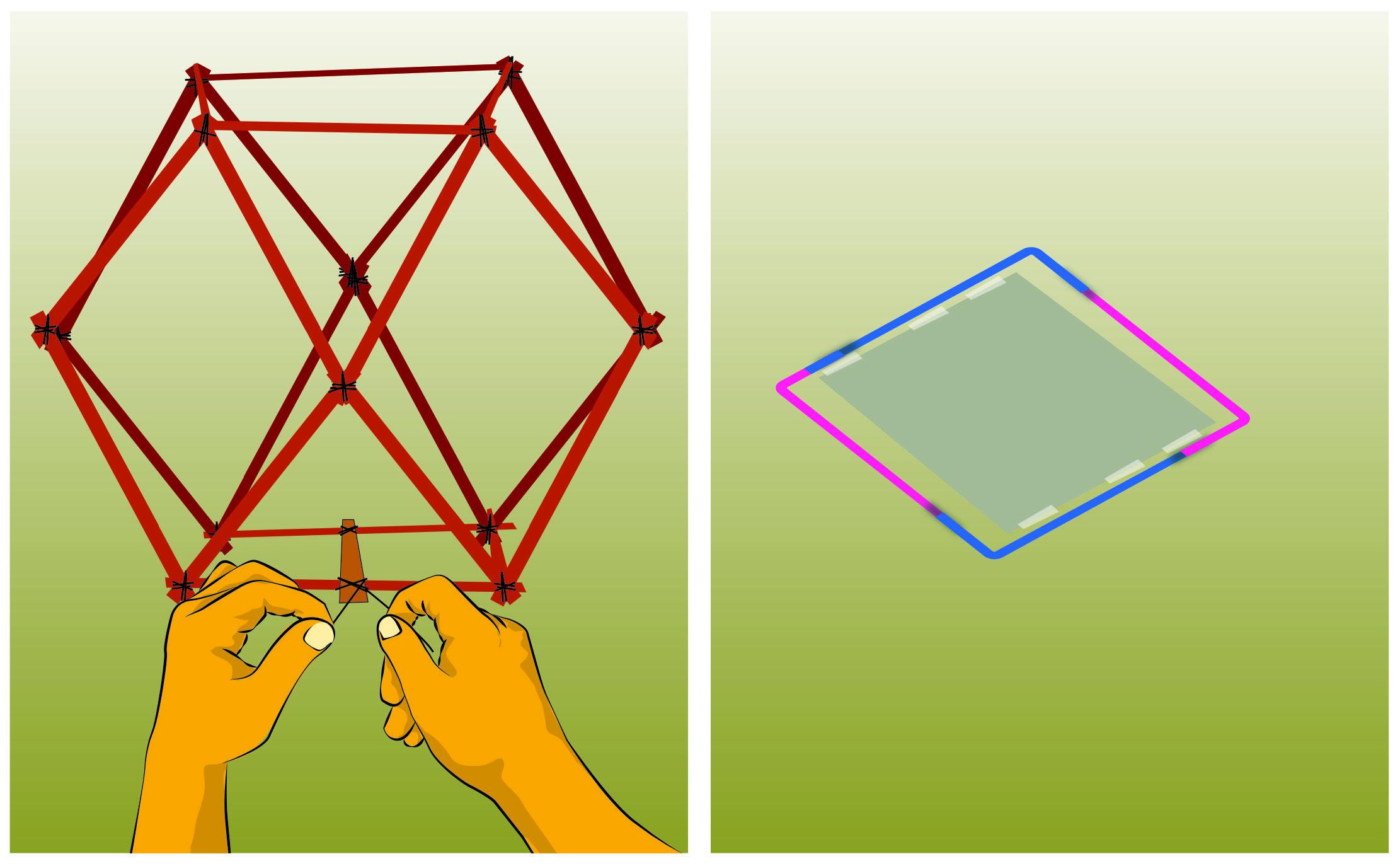 Make a Vesak lantern in six easy steps.