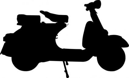 Piaggio Vespa GTS 300 Clip Art Download.