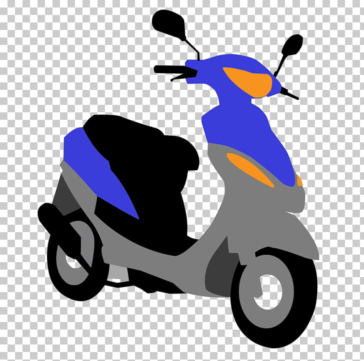 Scooter Motorcycle Moped Vespa, scooters. PNG clipart.