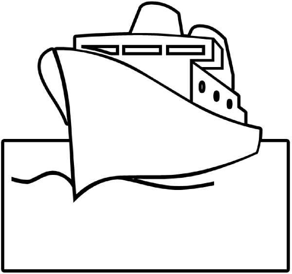 Ship Outline Clip Art at Clker.com.