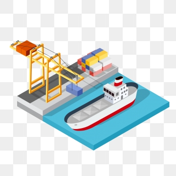 Container Ship PNG Images.