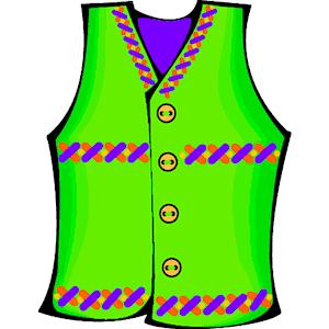 Vest Clipart.