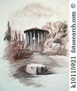 Vesta Illustrations and Clipart. 17 vesta royalty free.
