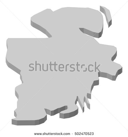 Norge Map Stock Photos, Royalty.
