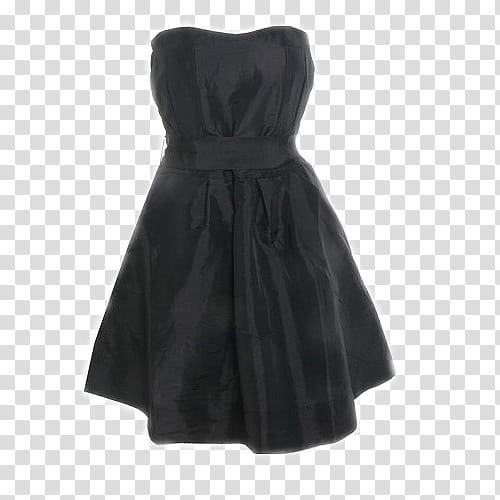Vestido, black scoop neck sleeveless dress transparent.