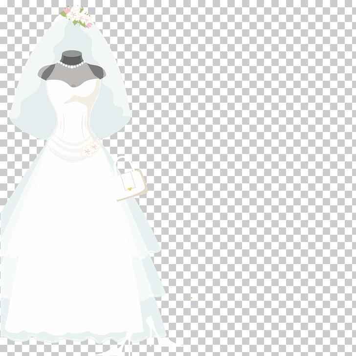 Vestido de novia estatuilla traje, boda PNG Clipart.