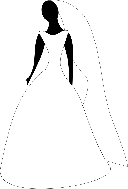 Bride Silhouette Png Free Vector Gra.