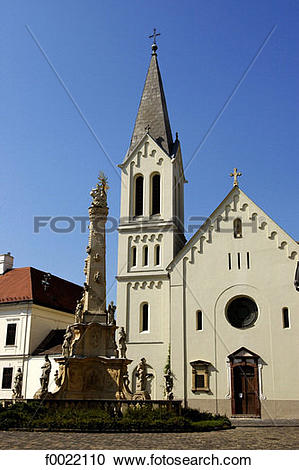 Stock Photography of Hungary, Veszprém, Gizella Chapel f0022110.