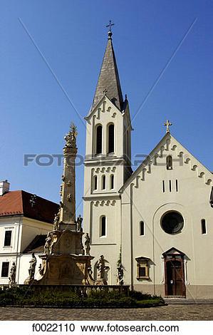 Stock Photography of Hungary, Veszprém, Gizella Chapel f0022110.