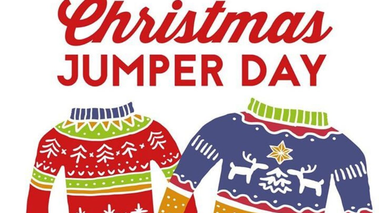 Christmas Jumper Day.