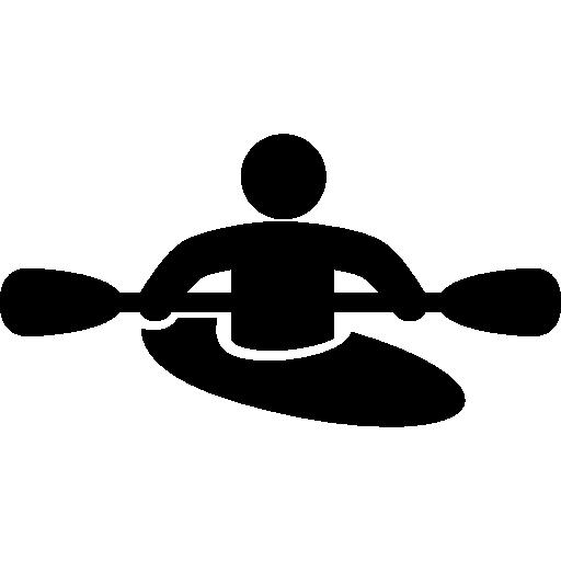 Rafting Computer Icons Canoeing Kayak.