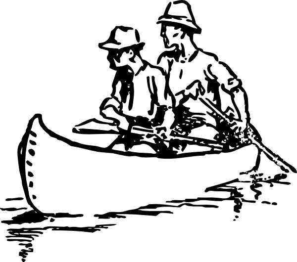 Canoe clipart draw, Canoe draw Transparent FREE for download.