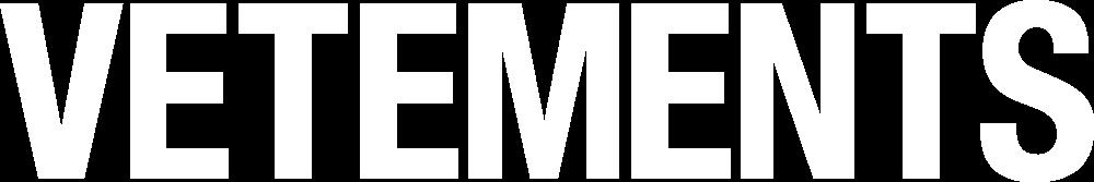 Vetements Logos.