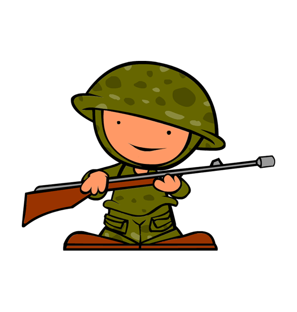 Happy clipart soldier, Happy soldier Transparent FREE for.