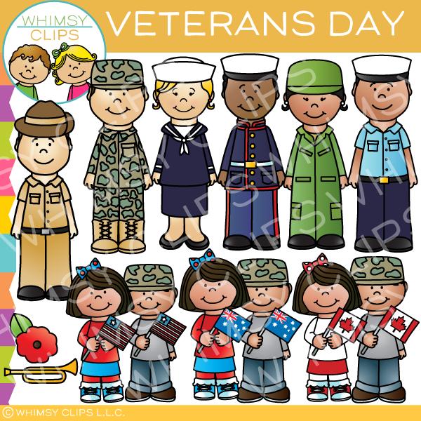 Veterans Day Background Design clipart.