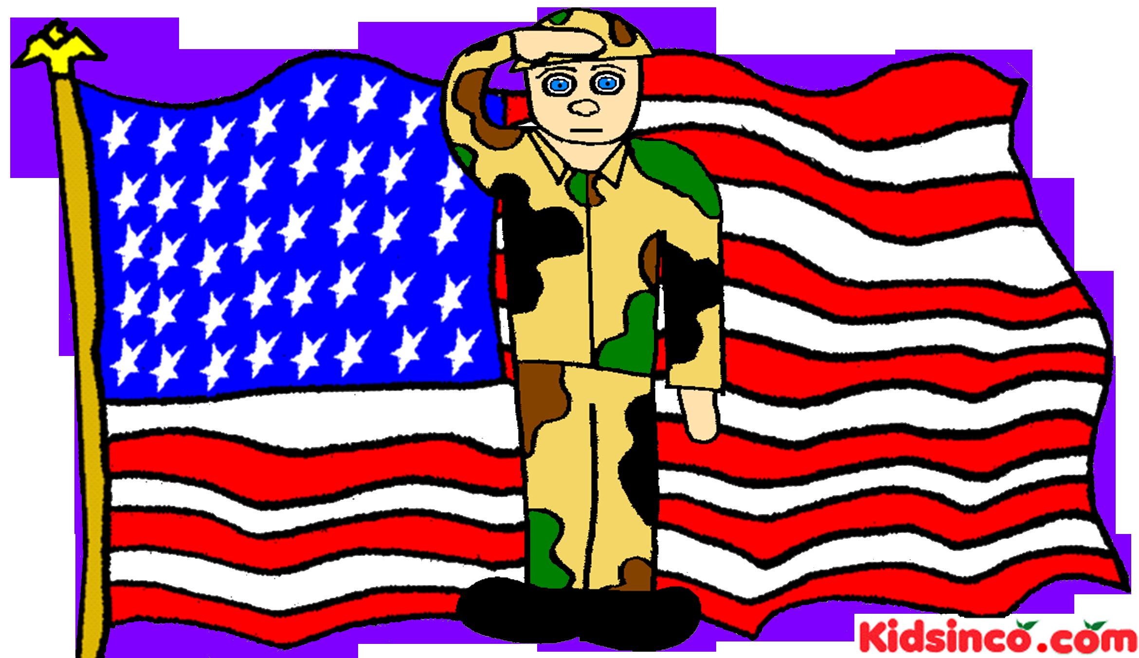 Veterans Clipart.