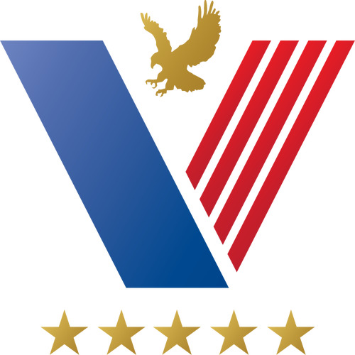 US veteran logo idea vector clip art.