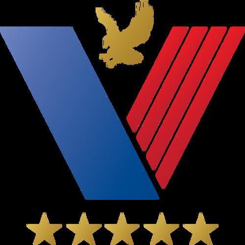 US veteran logo idea vector clip art.
