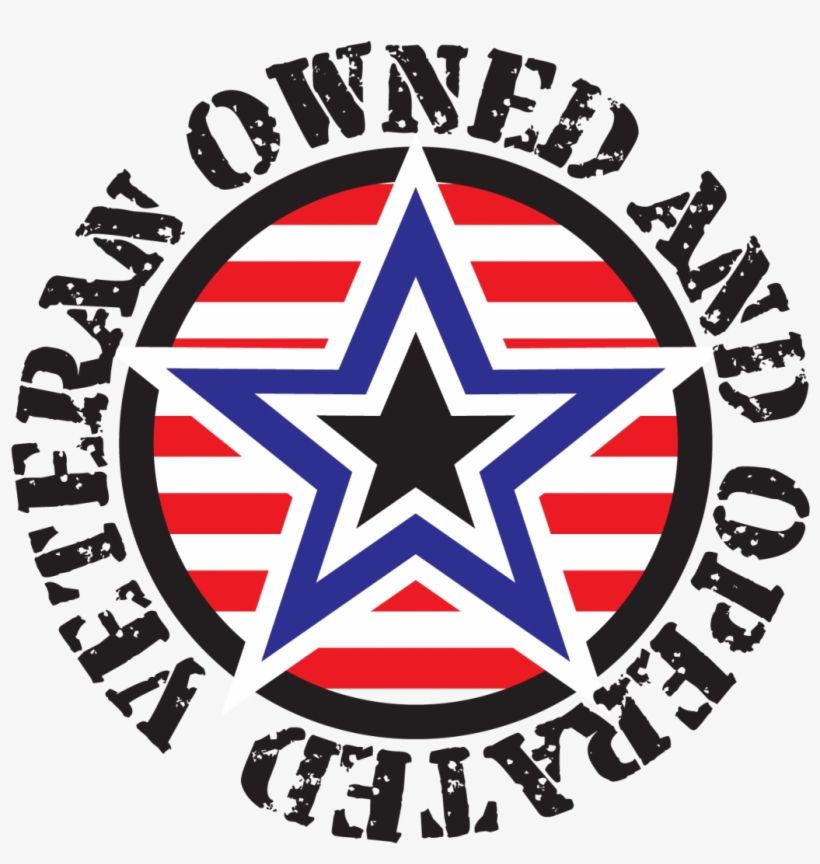 Veteran Owned And Operated Logo.