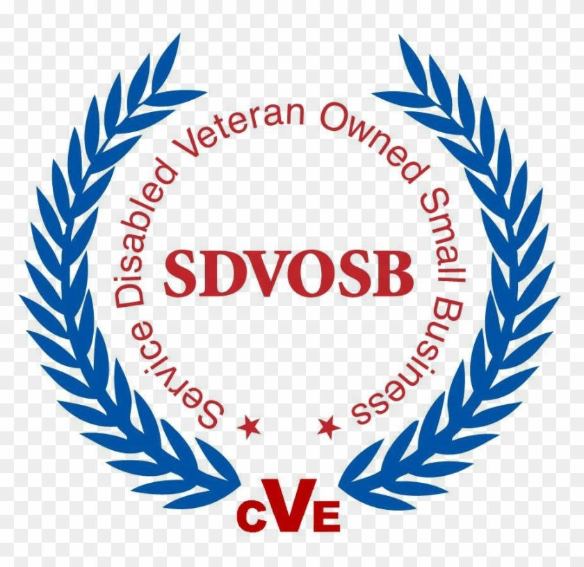 Service Disabled Veteran Owned Small Business Logo.