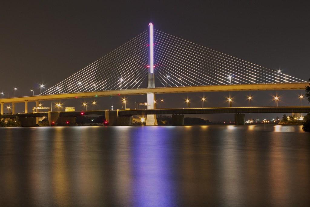 Toledo Skyway Bridge.