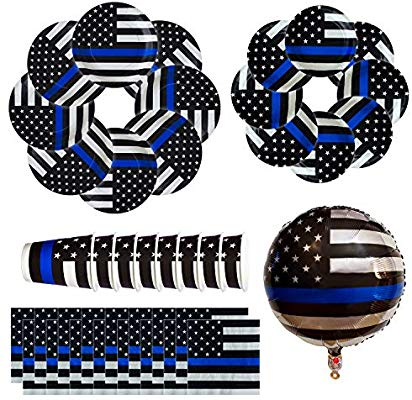 Amazon.com: Havercamp Police Thin Blue Line Party Bundle.