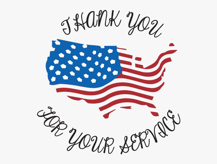 Transparent Thank You Veterans Clipart.