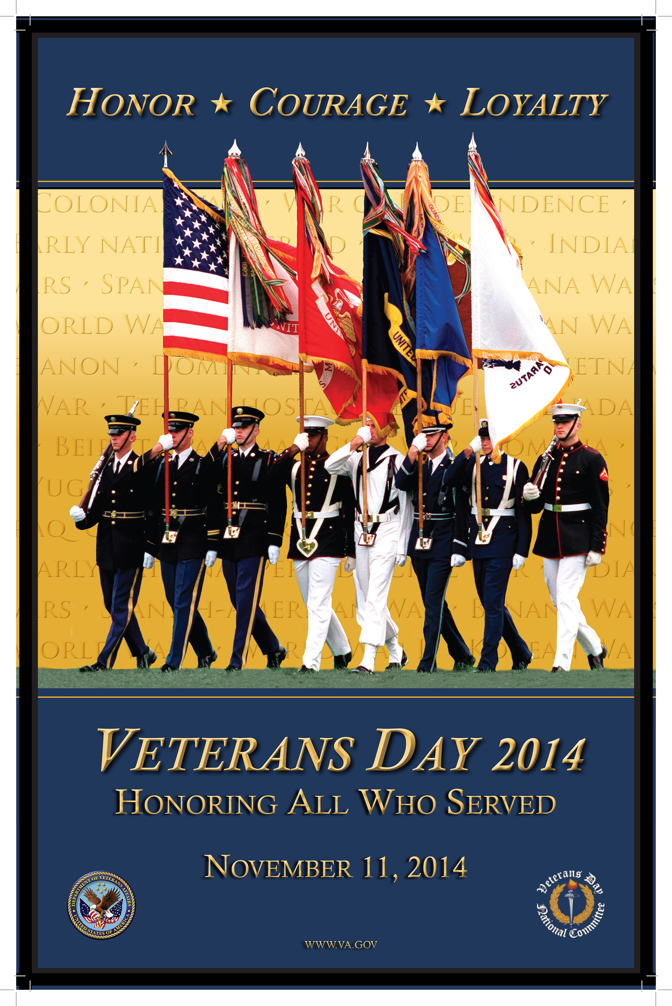 Veterans Day Program Clipart.