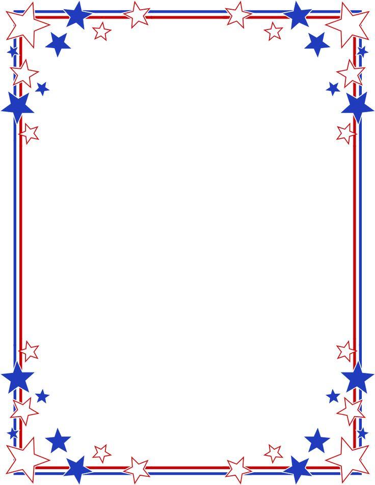 memorial day borders.