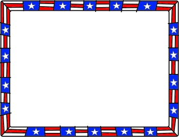 Patriotic Borders Worksheets & Teaching Resources.