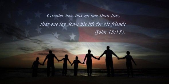 Six Great Scriptures to Celebrate Veterans Day.