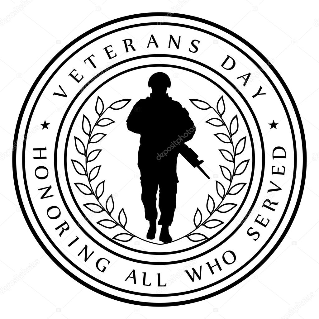 Veterans day black and white clipart 5 » Clipart Station.