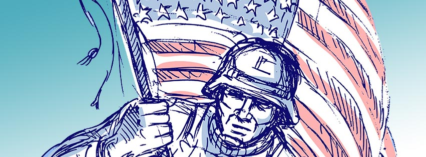 Free Veterans Day Facebook Covers.