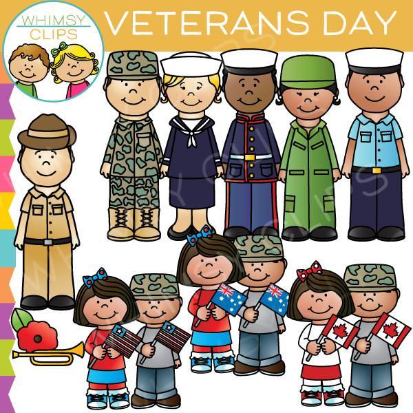 Veterans Day Clipart Kids.