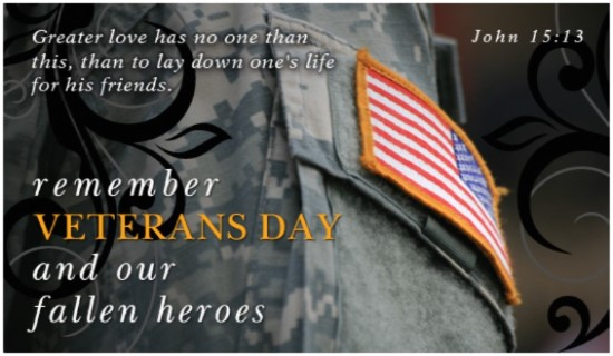 Christian Veterans Day Clipart.