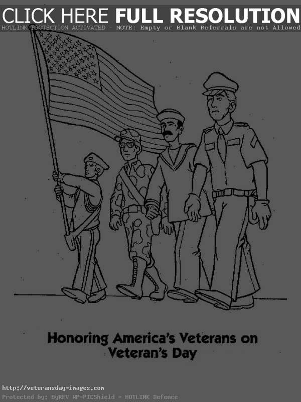 Veterans day clipart to print.