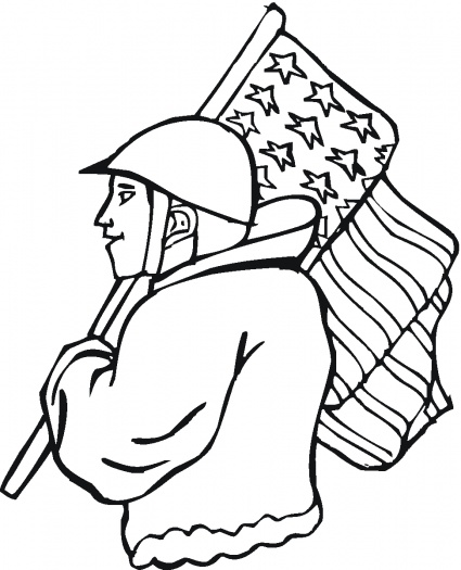 veterans day coloring pages for kids.