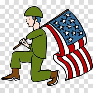 Disabled American Veterans transparent background PNG.