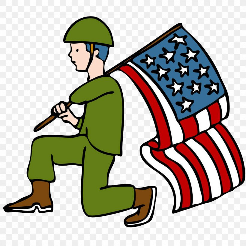 Veterans Day Parade Soldier Clip Art, PNG, 1000x1000px.