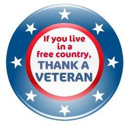 Free Patriotic Memorial Day and Veterans Day Clip Art.