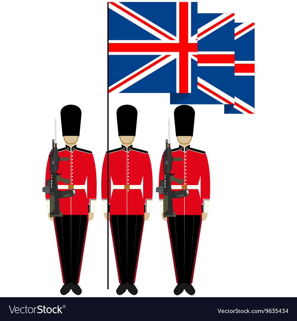 Honor Guard in England.