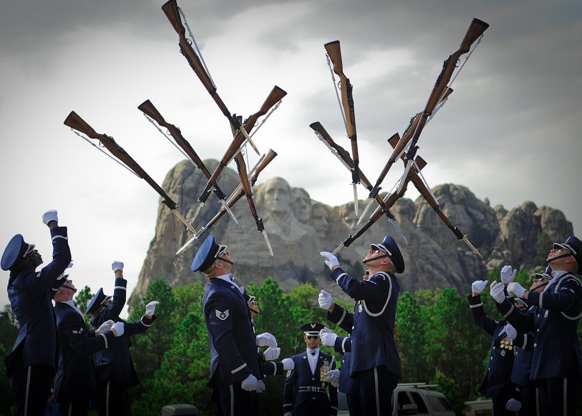 Image result for honor guard drill team clip art.